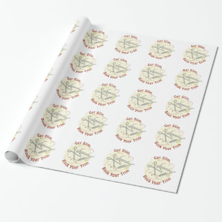 Book Your Trim Wrapping Paper