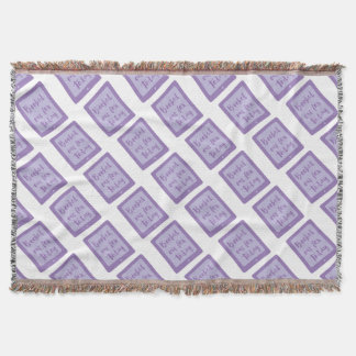 booked out for today (e reader) throw blanket