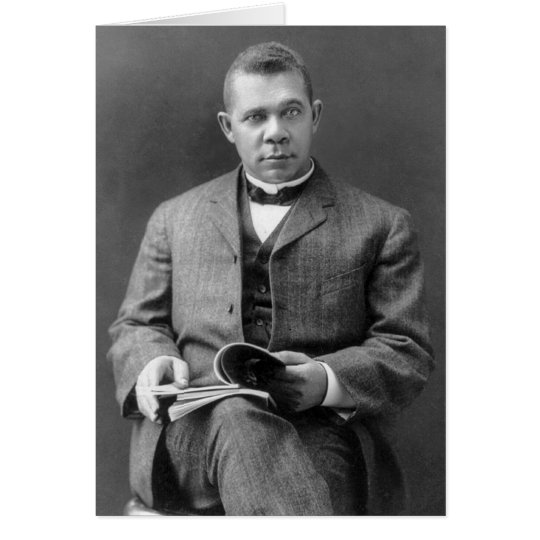Booker T. Washington, 1903 Card