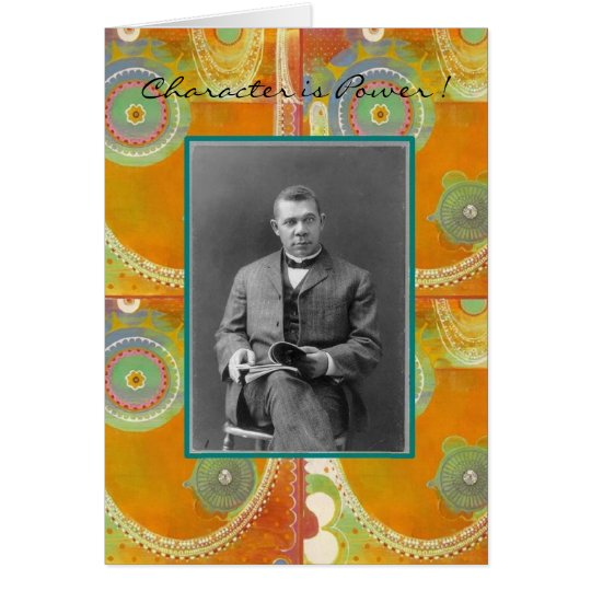 Booker T. Washington Card