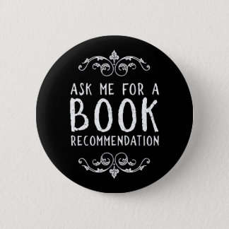 Bookish 6 Cm Round Badge