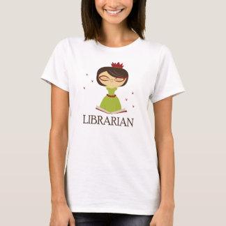 Bookish Librarian Library Gift T-Shirt