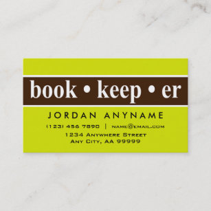 Bookkeeping business cards zazzle au bookkeeper business card colourmoves