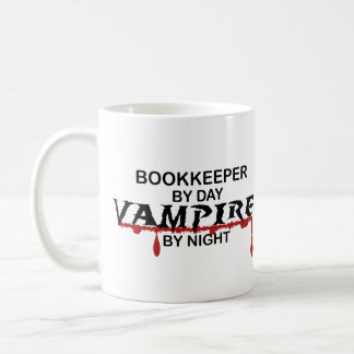 Bookkeeper by Day, Vampire by Night Coffee Mug