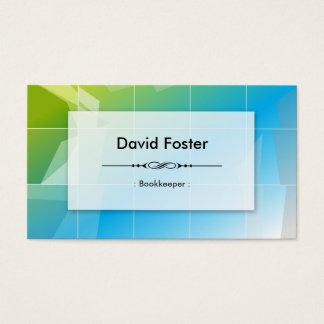 Bookkeeper - Modern Elegant Simple Business Card