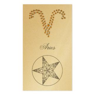 Bookmark Aries (zodiac sign) Business Card