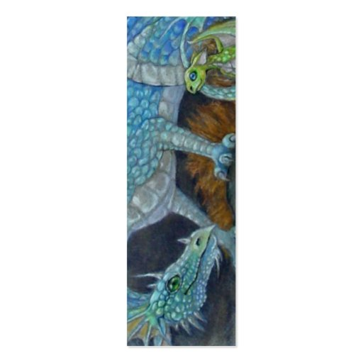 BOOKMARK - Blue Dragon Business Cards