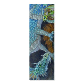BOOKMARK - Blue Dragon Pack Of Skinny Business Cards
