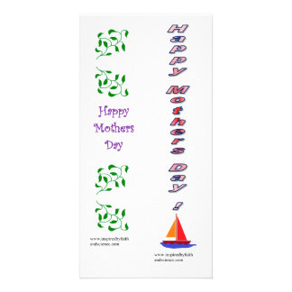 bookmark card for Mothers' Day Picture Card
