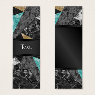 Bookmark Card Marble Geometric Background G430