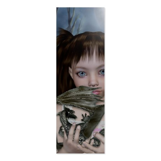 Bookmark Dragon Girl Business Card