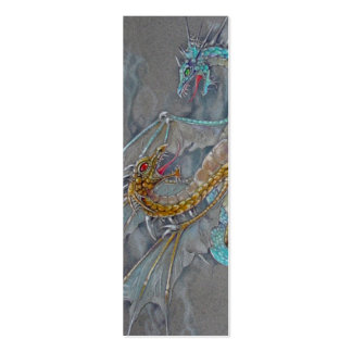 BOOKMARK - Dragons Pack Of Skinny Business Cards
