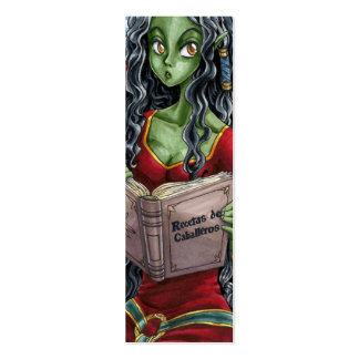 Bookmark Dragoon and Knight Pack Of Skinny Business Cards