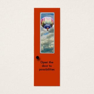 Bookmark - Open door to possibilities Mini Business Card