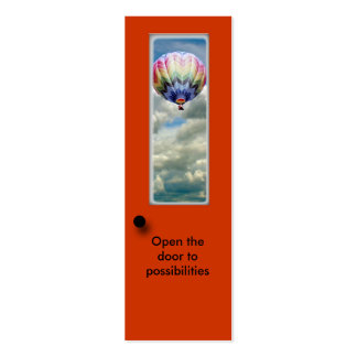 Bookmark - Open door to possibilities Pack Of Skinny Business Cards