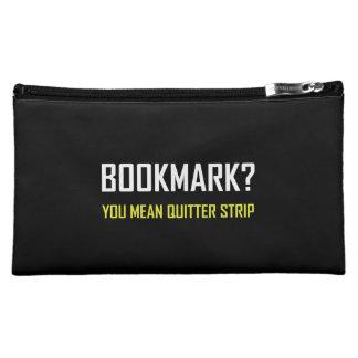 Bookmark Quitter Strip Makeup Bag
