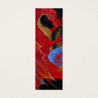 BOOKMARK - Red Dragon Mini Business Card