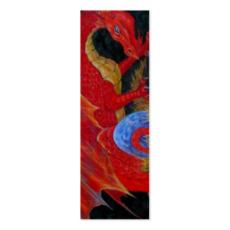 BOOKMARK - Red Dragon Pack Of Skinny Business Cards