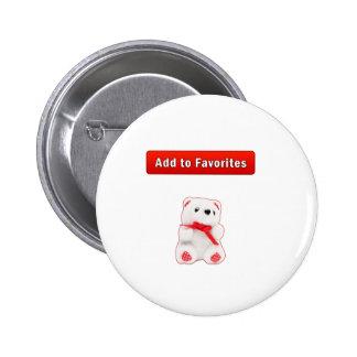 Bookmarks favorites pinback button
