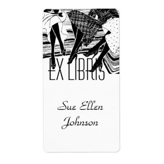Bookplate Book Club Group Ex Libris Name Labeling