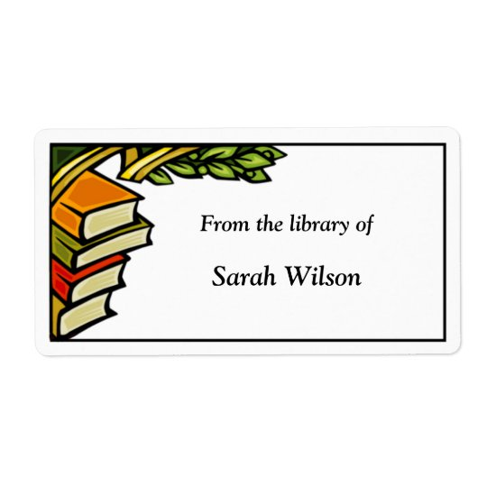 Bookplate Labels