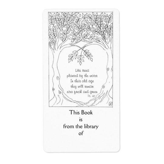 Bookplate: Psalm 92