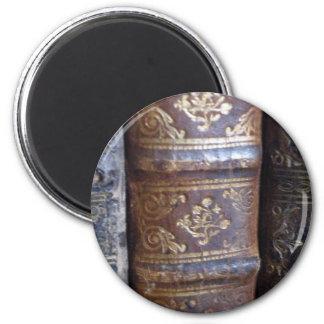 Books 6 Cm Round Magnet