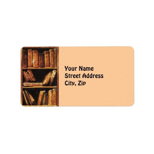 Books Address Label