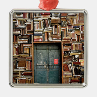 Books and Books Metal Ornament