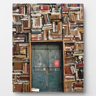Books and Books Plaque