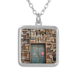 Books and Books Silver Plated Necklace