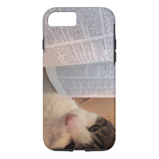 Books and Cats Phone Case
