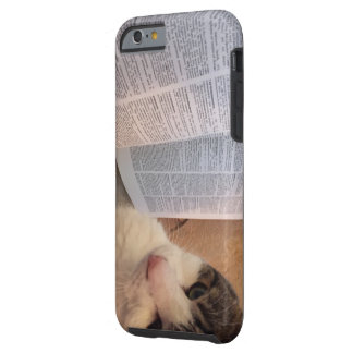 Books and Cats Phone Case Tough iPhone 6 Case