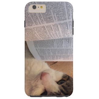 Books and Cats Phone Case Tough iPhone 6 Plus Case