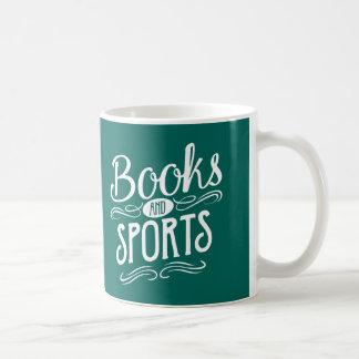 Books and Sports Basic White Mug