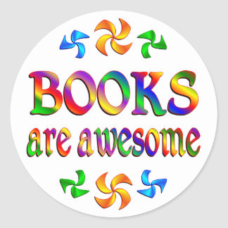 Books are Awesome Stickers
