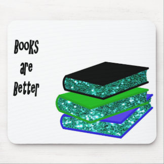 Books are Better Mouse Pad