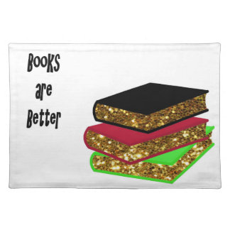 Books are Better Placemat
