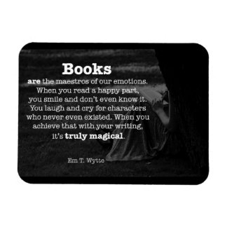 Books Are Magical Inspirational Writing Magnet