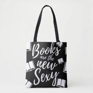 Books are the New Sexy Tote Bag
