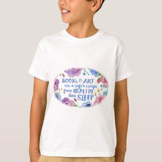 Books, Art & Sleep T-Shirt