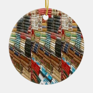 BOOKS Bookworm Library Read Learn Bookshelf GIFTS Round Ceramic Decoration