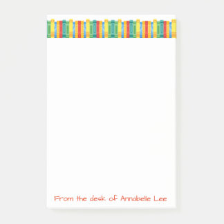 Books Border Post-it Notes