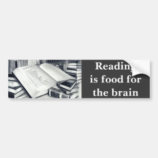 Books Bumper Sticker