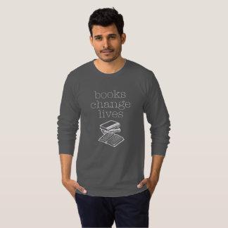 Books Change Lives Long Sleeve T-Shirt