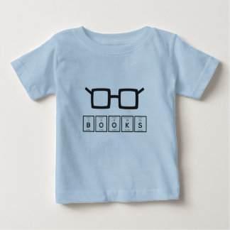 Books chemcial Element Nerd glasses Zh6zg Baby T-Shirt