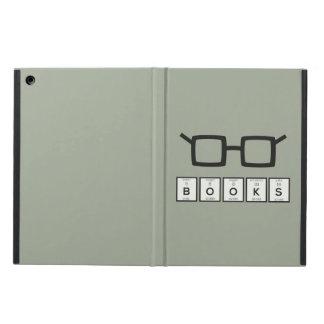 Books chemcial Element Nerd glasses Zh6zg Case For iPad Air