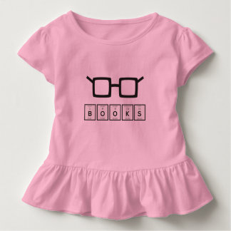 Books chemcial Element Nerd glasses Zh6zg Toddler T-Shirt