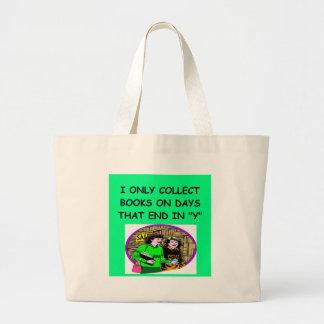 BOOKS collector Jumbo Tote Bag