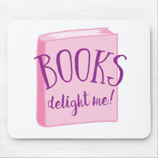 books delight me mouse pad